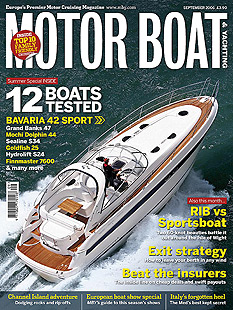 motor boat and yachting cover
